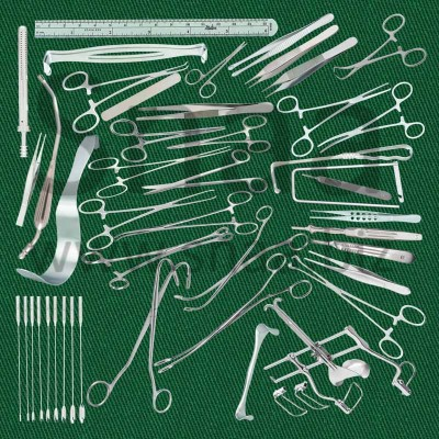 Common Duct Instruments Set
