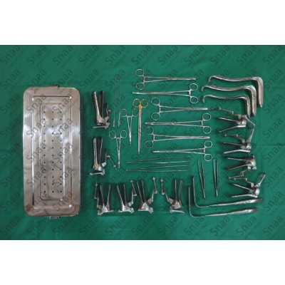 Obs. & Gyn Surgical Set
